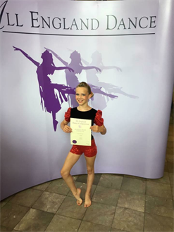 Very well done to Leah for performing her Modern solo xxx