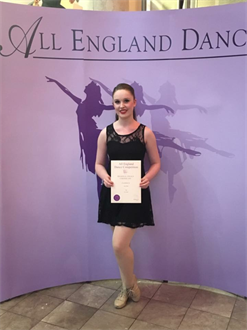 Congratulations to Jessica for performing all her dance solos so well and receiving an Honours for her Lyrical solo Super results xxx