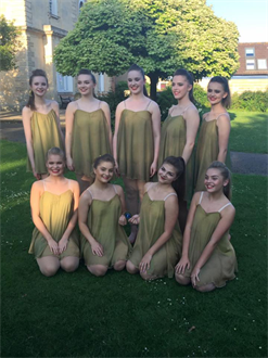 Congratulations to the Senior Modern Group for dancing so beautifully xxx