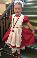 Massive Congratulations to Lola for winning a SILVER Medal for her Song and Dance solo xxx