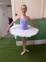 Very well done to Molly for performing your ballet solo so beautifully xxx
