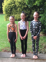 Congratulations to Evie Eleanor and Lucy for dancing your Modern solos so well xxx