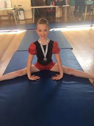 Congratulations to Leah for winning a Silver Medal for her Modern solo xxx