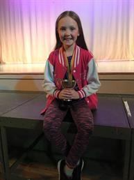 Congratulations to Eleanor for winning a Gold Medal for her Character solo xxx