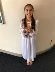 Congratulations to Brooke for winning a Gold Medal in her Song and Dance solo, super result xxx