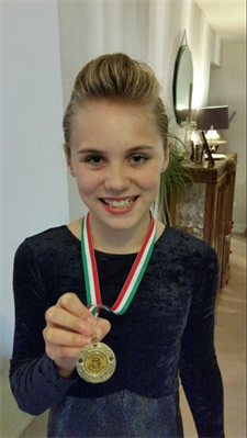 Very well done to Millie for winning Gold xxx