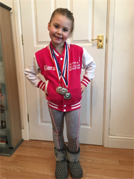 Congratulations to Keira for winning a SILVER Medal for her Character and Song & Dance solos and a BRONZE Medal in her Modern solo, very well done xxx