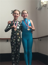 Congratulations to Chloe and Lucy for winning BRONZE Medals and coming joint 3rd in their Modern solos xxx
