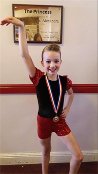 Very well Done to Leah for performing her solos so well and winning a BRONZE Medal for her Modern solo xxx