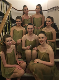 Congratulations to all the girls in the Senior Modern Group for winning SILVER Medals, super result xxx
