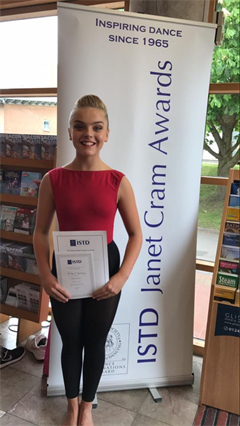 Congratulations to Ruby for being awarded a commendation in the Senior Section at the Janet Cram Awards 2017