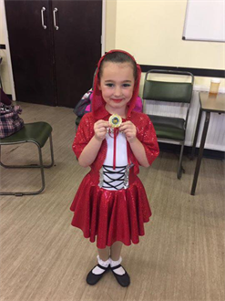CONGRATULATIONS to Esmee for winning a GOLD Medal for her new Character solo and a SILVER Medal for her Modern solo Very Well Done xxx