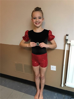 CONGRATULATIONS to Leah for winning SILVER in her Modern solo, super result Leah xxx