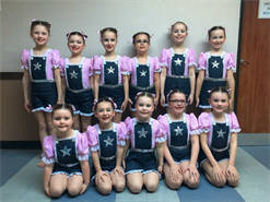 Congratulations to all the girls in Cotton eye Joe for being placed 4th, lovely marks girls xxx