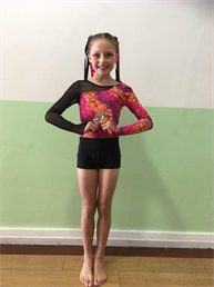 Massive well done to Evie for winning a SILVER Medal in the Choreography section xxx