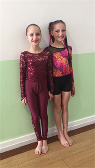 Very well done to Darcey and Evie for dancing so well in the Choreography section xxx