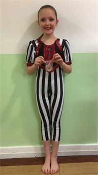 Massive Congratulations to Ellie for winning Silver in the Character solo and Bronze in the Modern solo xxx