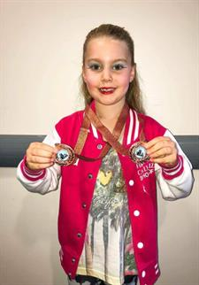 Congratulations to Kiera for winning 2 BRONZE Medals xxx